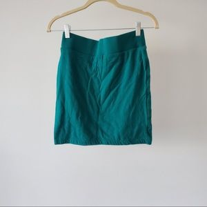 Teal Bodycon Skirt